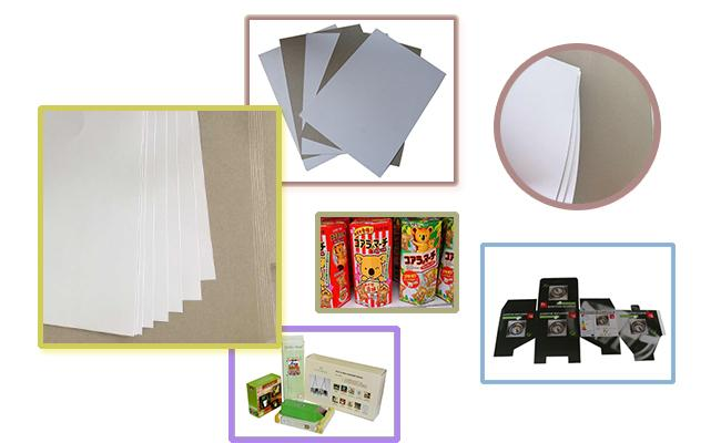High Grammage File Board Paper , Smooth Surface Clay Coated Printer Paper