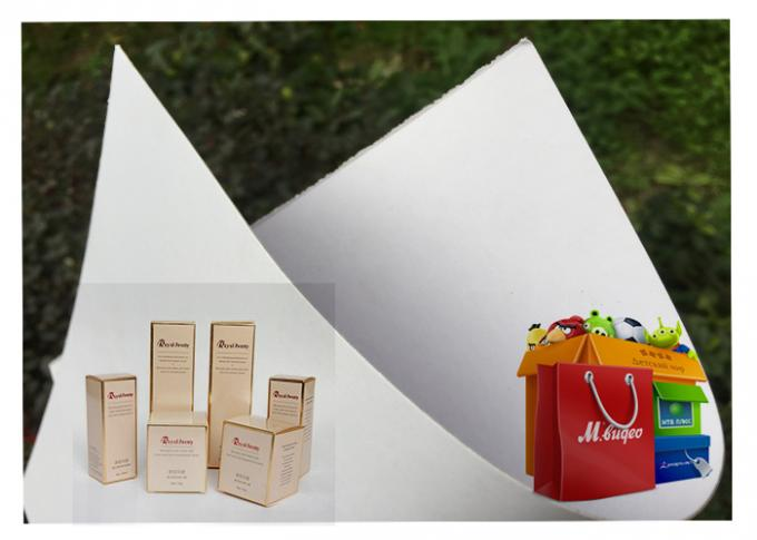 100% Wood Pulp Roll white carton board white Back Duplex Board Paper For Gift Wrapping