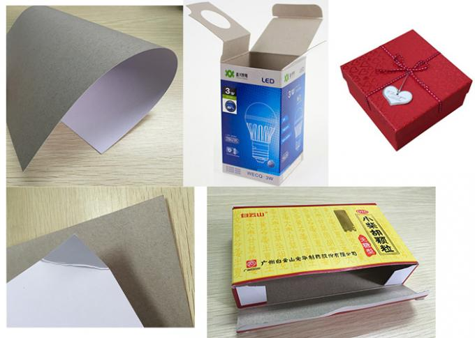 100% Pure Wood Pulp Coated Board Paper 250gsm - -450gsm Moisture Proof