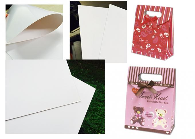 Customized Size C2s Craft Cardboard Sheets / Reel Smoothy Surface