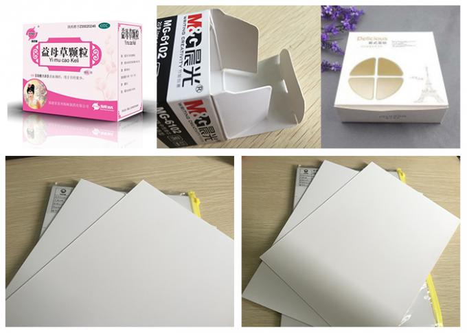 A4 Ivory Cardboard Packaging Box Paper For Gift Box Strong Stiffness