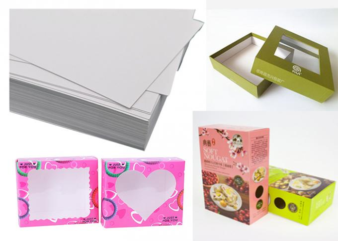 C1s High Bulk Packaging Box Paper For Medicine Boxes 210gsm ~ 400gsm