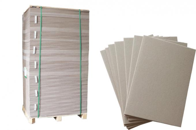 Both Side Grey Chipboard Paper Laminated Chipboard Sheets Folding Resistance
