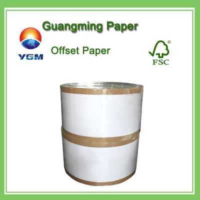 China 60g 70g 80g Wood Free Offset Printing Paper Uncoated Fine Paper Folding Resistance supplier