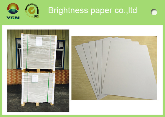 China Anti Curl Thin Mill Board Paper , A4 Cardboard Sheets One Side Coated supplier