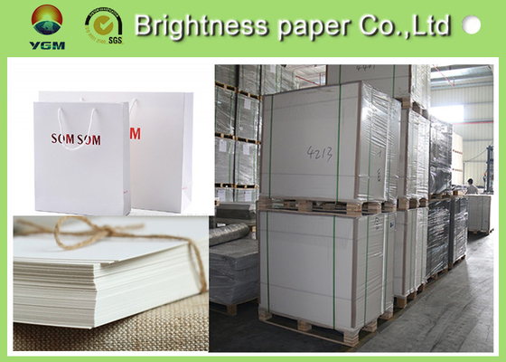 China Standard Size Ivory Board Paper 350gsm Paper Sheet For Cellphone Boxes supplier