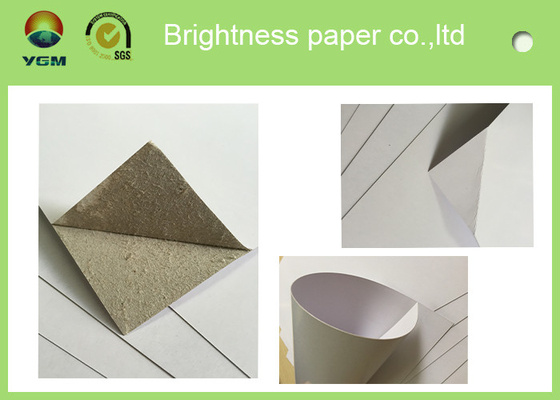 China Ream Packing 0.43 Mm White Back Duplex Board Paper Gor Courier Bags supplier