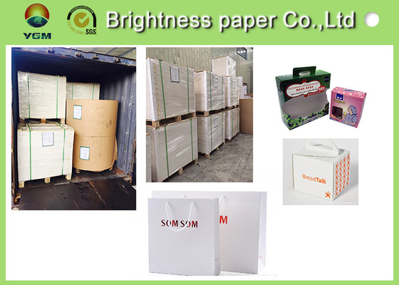 China GC1 250gsm Ivory Board Paper FBB Two Side White Cardboard For Electronic Packing supplier