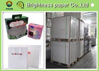 China C1S  ivory card Printing Paper , FBB White Back cardboard paper sheet/roll supplier