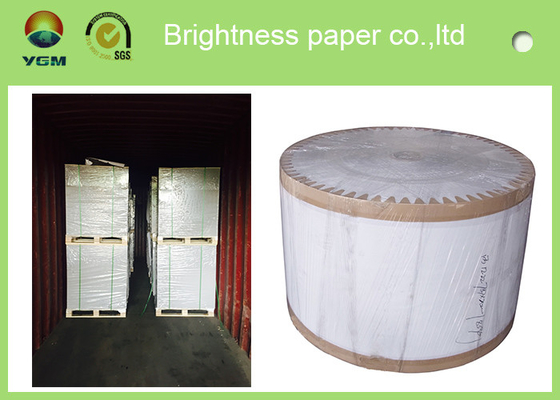 China 100% Wood Pulp Roll white carton board white Back Duplex Board Paper For Gift Wrapping supplier