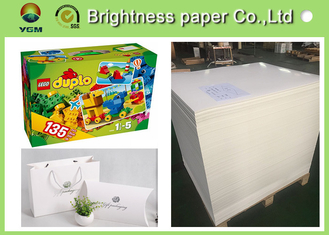 China High End Printing / Pacaking Ivory Board Paper 190gsm ~ 400gsm Antistatic supplier