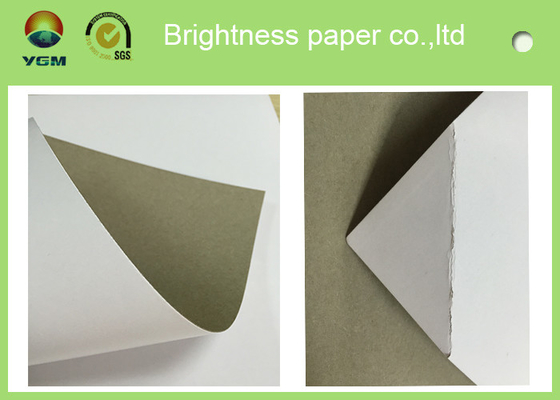 China 250gsm 0.31mm Printed Cardboard Sheets , Recycled Mixed Pulp A4 Cardboard Paper supplier