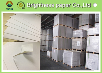 China High Brightness White Back Duplex Board 2 Side White Environmental Friendly supplier