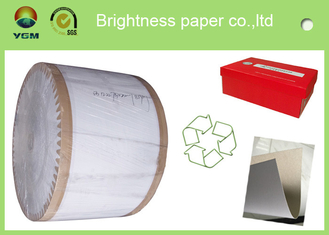 China Recycled One Side Coated Grey Back Duplex Board Paper Sheet 787 * 1092mm supplier
