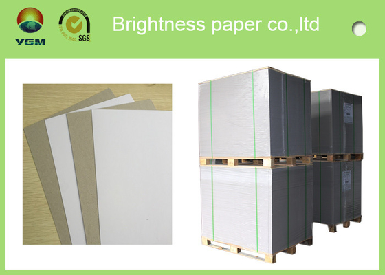 China Virgin Pulp Style Grey Back Duplex Board Paper Full Side SGS Certified supplier