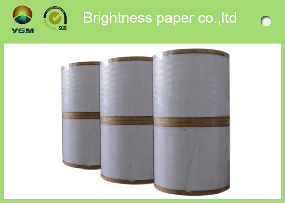 China Durable Coated Duplex Board Grey Back , 360um Printing Coated Art Paper supplier