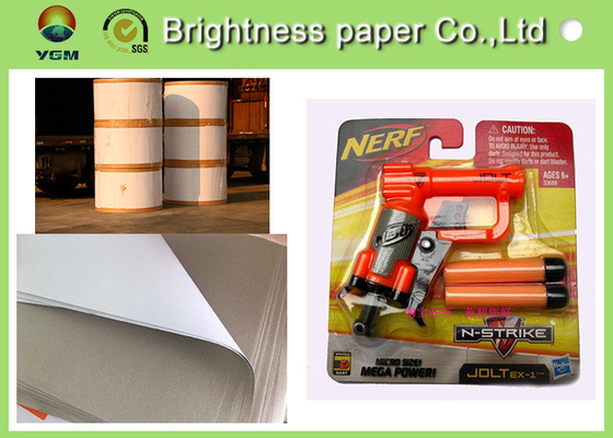 China Lightweight Coated One Side Paper , Carrier Board Paper 400gsm / 450gms supplier