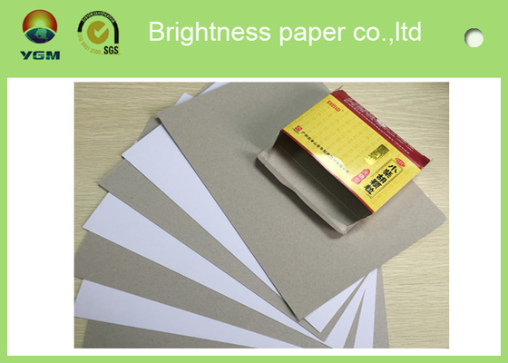 China Mixed Pulp Recycle Coated Board Paper Carton Board Packaging Grade AA supplier