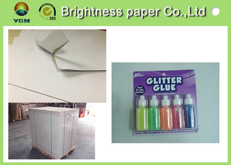 China High Brightness Hard Board Paper , A3 Cardboard Sheets For Battery Eco Friendly supplier