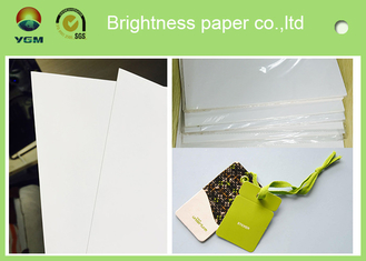 China Customized Size C2s Craft Cardboard Sheets / Reel Smoothy Surface supplier