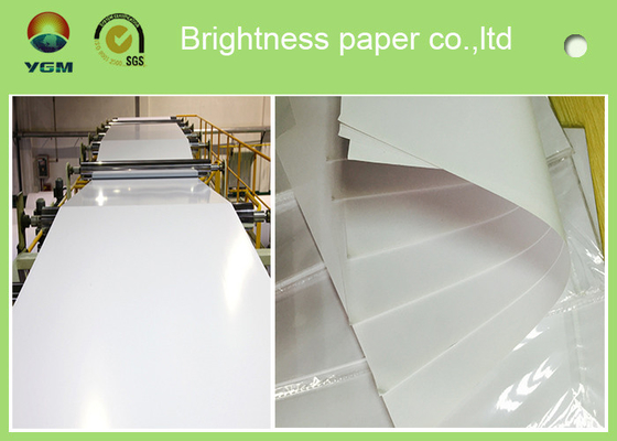 China Virgin Pulp Magazine Offset Printing Paper Light Weight  60g - 120g supplier