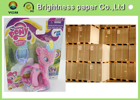 China Coated Blister Board Paper C1s Folding Box Board Sheet For Packing supplier