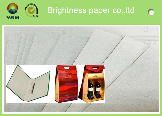 China Offset Printing Grey Chipboard Paper For Package Box 100% Recyclable supplier