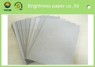 China Mixed Pulp Laminated Grey Chipboard Paper Sheets For Calendar Eco Friendly supplier