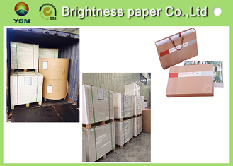 China High Bulk Large Cardboard Sheets , Compressed Paper Board For Making Hangbag supplier