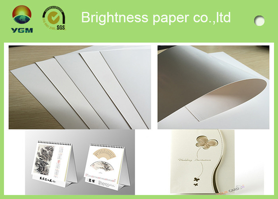 China Food Grade Cardboard Sheets , Folding Box Board Paper Chemical Mechanical Pulp supplier