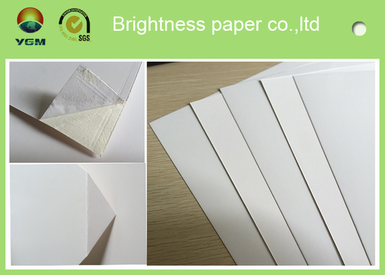 China Waterproof White Cardboard Sheets For Magazine Cover 190gsm -- 400gsm supplier
