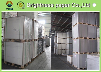 China Printable C1S Folding Box Board Ivory Cardboard 230gsm ~ 400gsm Even Thickness supplier