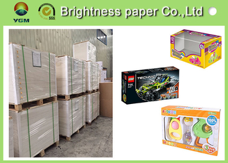 China Virgin Wood Pulp C1s Folding Box Board Coated Paper With Full Gsm supplier