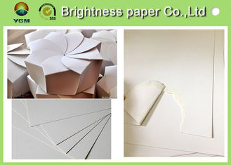 China High End Packaging Paper Folding Box Board Two Side White Good Printing Effect supplier