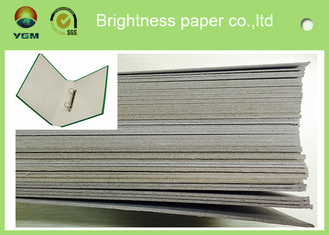 China 300gsm - 3000gsm Light Grey Cardstock , Solid Laminated Grey Board Paper supplier