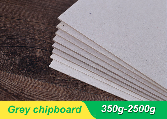 China 800gsm 1.2 mm Grey Board Paper Bulk Chipboard Sheets For Jewelry Box supplier