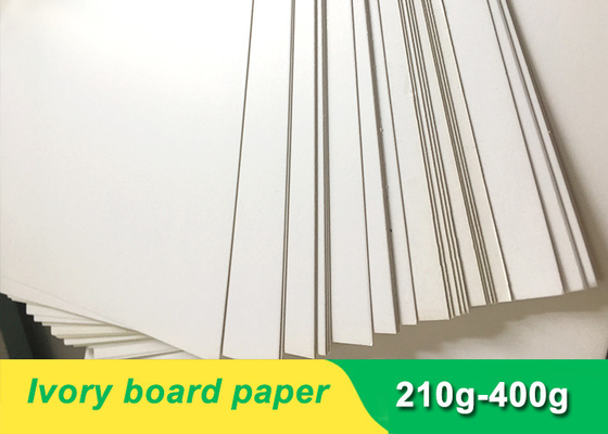 China Environmental 300gsm Ivory Board Paper cardboard paper sheet for invitation card supplier