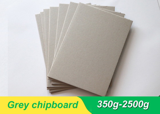China paper mill grey board 300g~650g grey chipboard for book binding board supplier
