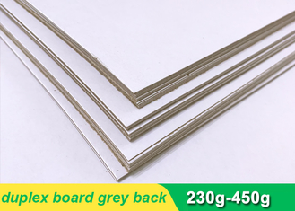 China One side coated Duplex Paper Board with grey back 300g 700 * 1000mm supplier