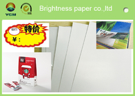 China Printable A4 Glossy Sticker Paper , Glossy Magazine Paper Customized Size factory