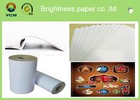 China 80gsm - 250gsm Glossy Invitation Paper , Glossy White Paper Offset Printing factory