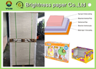 China Strong Stiffness Food Grade Paperboard , Coated Glossy Paper 230gsm ~ 400gsm factory