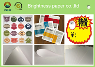 China C2s 100% Virgin Pulp Glossy Printing Paper For Label High Stiffness factory