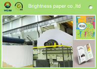China A4 Compatible Offset Printing Paper / Book Printing Paper High Brightness factory