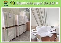 China Book Cover Making White Cardboard Sheets / Ivory Paper Board 250gsm factory