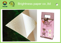 White Bristol Art Cardboard Sheets Two Sides Coated For Wrapping Packaging
