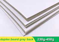 China One side coated Duplex Paper Board with grey back 300g 700 * 1000mm factory