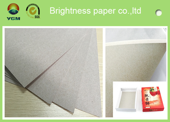 Well Coated C1s Duplex Paper Board Grey Back Sheet For Shopping Bags