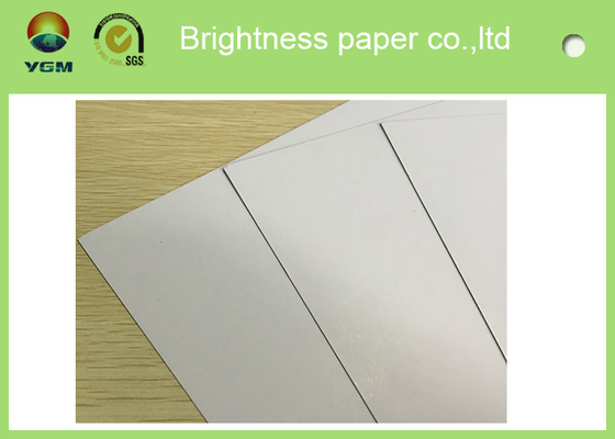 China 250gsm - 450gsm Duplex Blister Board Paper White Back 100% Virgin Pulp Material distributor