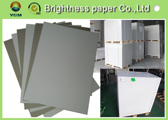 Smooth Surface Grey Back Duplex Board Thick Cardboard Sheets For Small Boxes